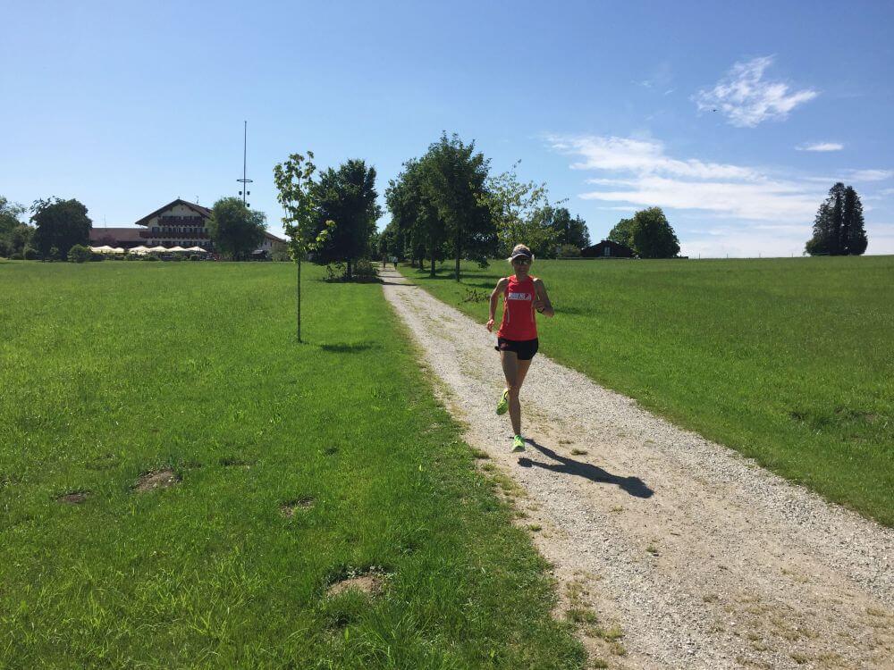 Läuferin & Sonnenschein
