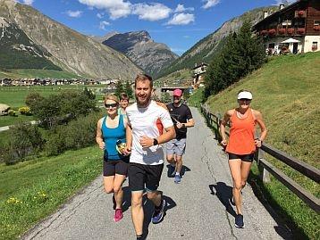 Livigno Laufseminar in herrlicher Berglandschaft