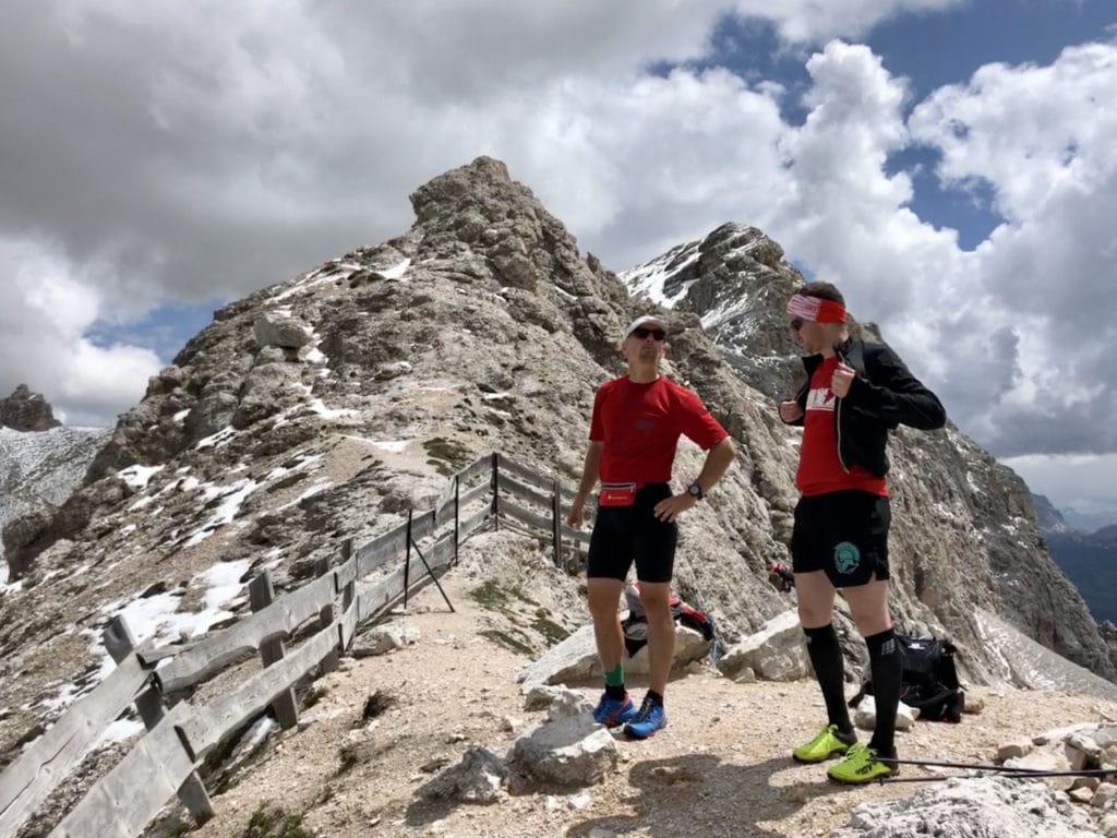 Gipfel-Stopp im Seiser Alm Trailrunning Laufcamp