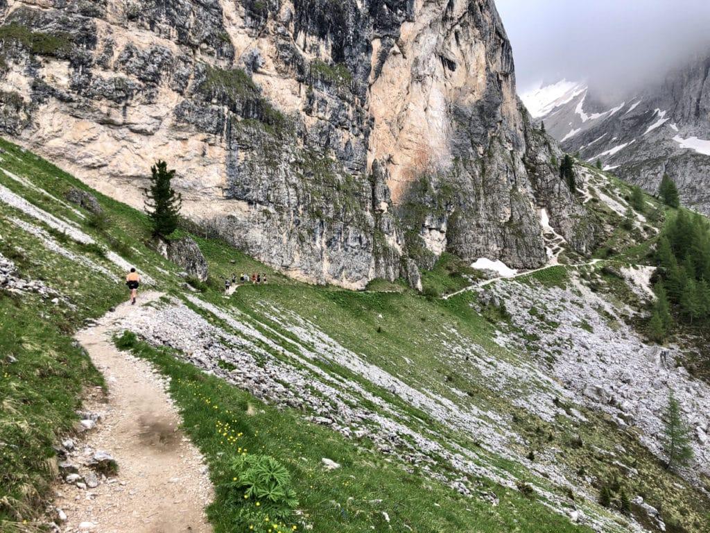Trailrunning am Langkofel in Südtirol