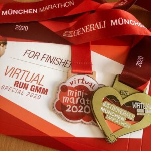 Virtual Run GMM Herzmedaille