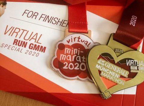 Virtual Run GMM Herzmedaille