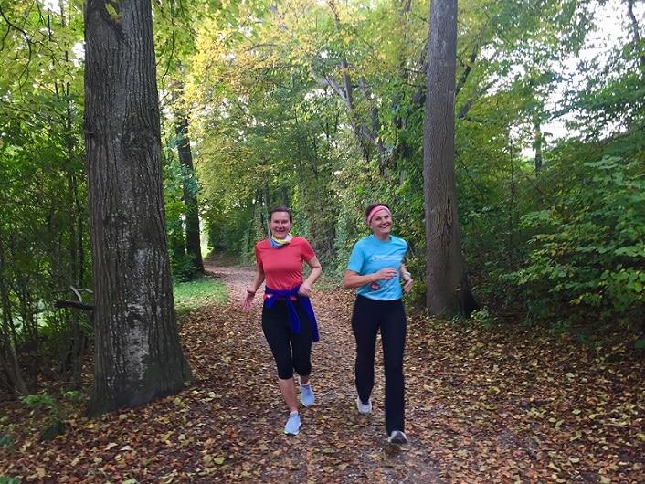 Chiemsee Laufcamp - Lauf durchs Blätterparadies