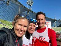 RUNNING Company_Glückliche Gesichter im Ziel beim München Marathon
